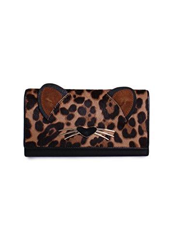 Kate Spade New York Women's Leopard Dagney Wallet, Multi, One Size by Kate Spade New York