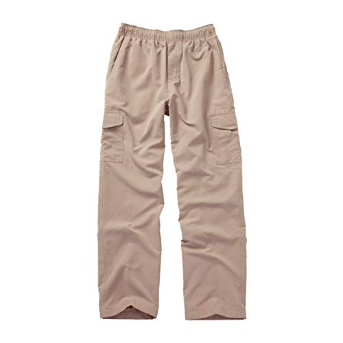 Boys Willy Wes And Pants (Wes and Willy Khaki Pull On Cargo Pant)