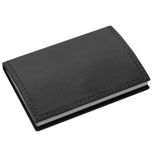 Black Leatherette Card Case (Black Leatherette Card Case)