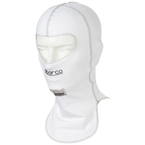 Sparco Mens Head Sock(White, Adult), 1 Pack