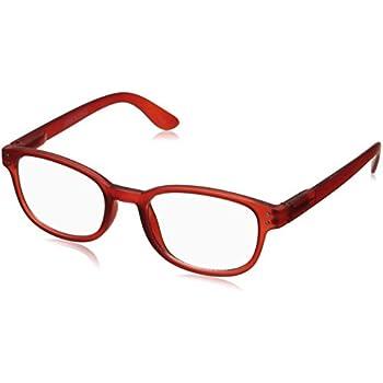 fa2a85efd57 Corinne McCormack Women s Red Color Spex 1015410-000.CMC Square Reading  Glasses