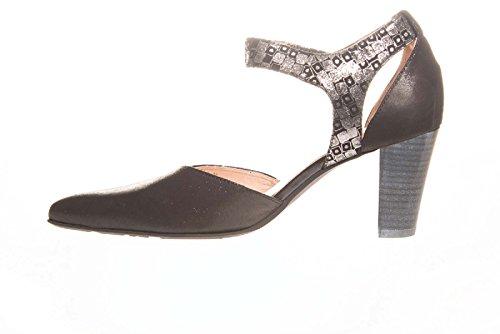 Semelle Fanet Escarpins Noir FUGITIVE Non Amovible Femme Noir qpUxA4f