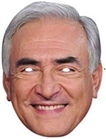 Carton souple avec Elastique Politique Masque DOMINIQUE STRAUSS KAHN