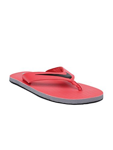 13052a778 Nike Men s Chroma 5 Max Orange Black-Cool Grey Flip Flops Thong Sandals-