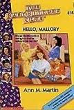 Hello, Mallory, Ann M. Martin, 0590433857
