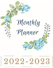 Monthly Planner 2022-2023: 2 Year Monthly Calendar Planner for Work or Personal Use, Notes & Monthly Calendar, 24 Months Planner