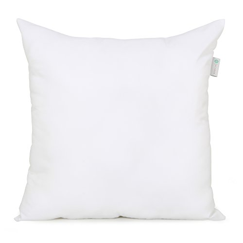 Acanva Down Alternative Pillow Insert Sham Form Cushion, Square, 20