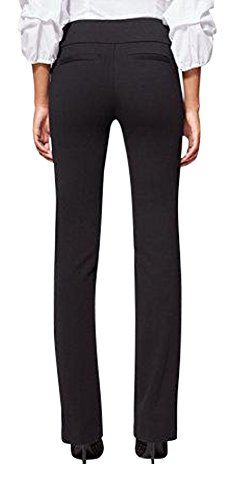 New York & Co. 7Th Avenue Tall Pant - Bootcut - XLarge Black by New York & Company (Image #1)