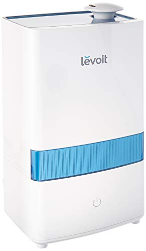 (LEVOIT Cool Mist Humidifier, 4.5L Ultrasonic Humidifiers for Bedroom and Babies, Large-Capacity Vaporizer for Large Room, Whisper-Quiet, Auto Shutoff, Lasts up to 40 Hours, 2-Year Warranty)