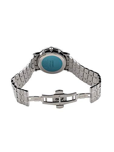 Seiko herr alarm kronograf armbandsur – premier SNAF75P1