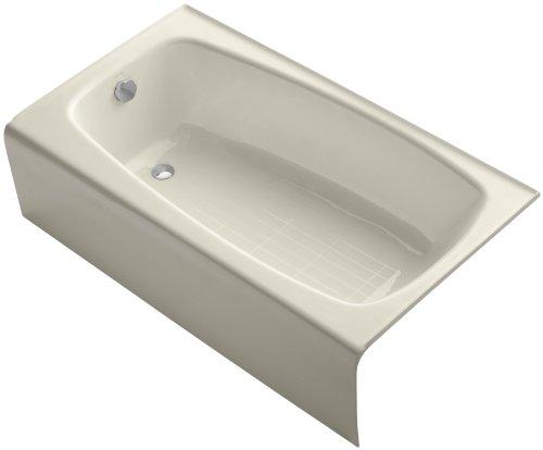 Kohler K-745-47 Seaforth Bath with Left-Hand Drain, ()