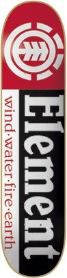 Element Skateboards Section Skateboard Deck - Thriftwood Construction - 7.75