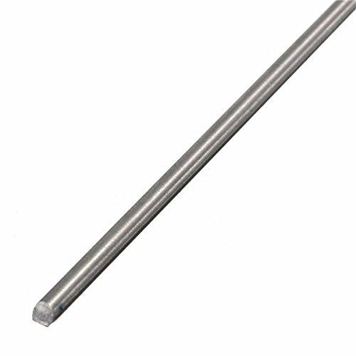 Titanium Round Bar - CoCocina Titanium Alloy Bar Metal Shaft Bar Round Rod 3mm x 250mm Titanium Rod