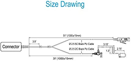 Two Wire Earpiece with Noise Reduction Mic for Motorola BPR40 CP200 Old Motorola Microphone Wiring Diagram on