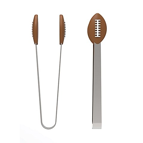 Kitchen Innovations Football Mini Tongs