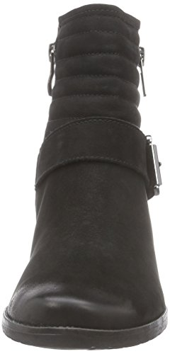 Caprice 25331 - botas de cuero mujer negro - negro
