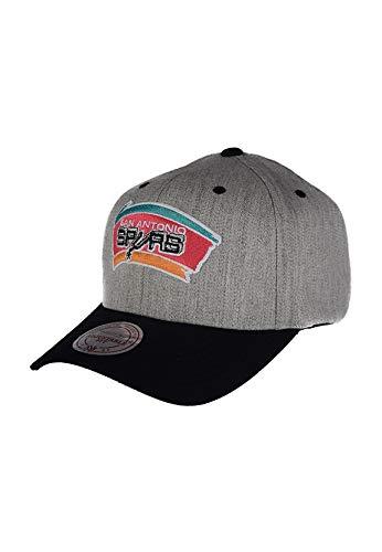 Mitchell & Ness San Antonio Spurs Team Logo 2-Tone 110 Grey Snapback