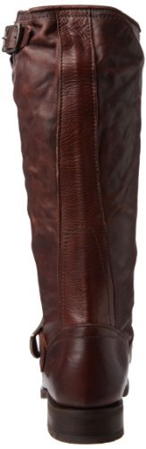 Brown Vintage Dark Slouch Veronica Leather Soft Womens 76602 Frye Boots wXOqxa