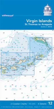 Read Online Virgin Islands - St. Thomas to Anegada (NV.Charts, Reg. 12.1.1) PDF