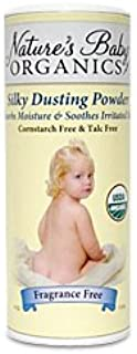 product image for Nature's Baby Organics USDA Silky Dusting Powder, Fragrance Free, 4 Oz.