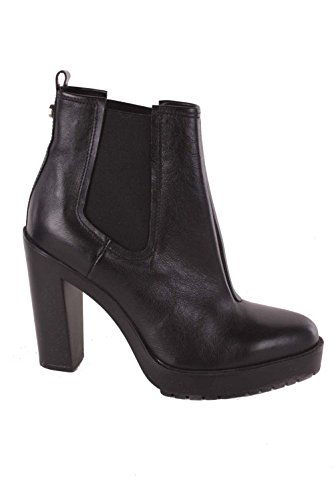 size 40 089fe 14a79 Diesel Damen Boots Stiefeletten Charon Schwarz Echtleder ...