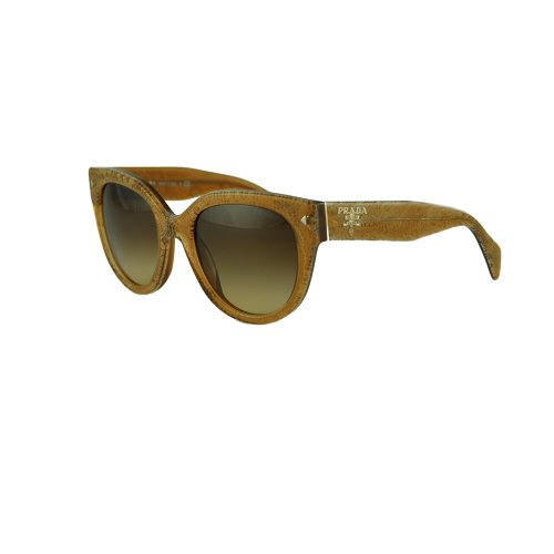 Prada PR17OS Sunglasses-JAW/6S1 Lace Sand (Brown Gradient ()