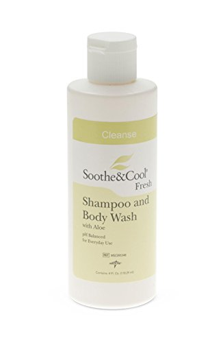 - Medline MSC095348 Soothe and Cool Shampoo and Body Wash, 4 oz (Pack of 48)