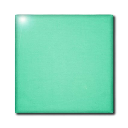 3dRose ct_173998_2 Image of Solid Pistachio Green-Ceramic Tile, 6-Inch ()