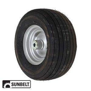 Amazon com: Dixie Chopper Wheel-Rib 13X6 5X6 Gray FP Part No