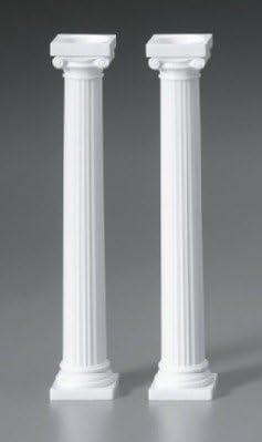 "Wilton 7/""grecian Spiked Pillars"