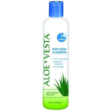 Mckesson Shampoo and Body Wash Aloe Vesta Bottle Scented (Squeeze Bottle 4 oz.) 48 Pack by McKesson