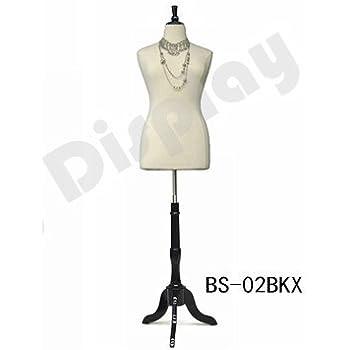 Amazon Size 14 16 White Female Dress Form Mannequin Plus Size