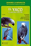 img - for El Yaco O Loro Gris Africano/ Training African Grey Parrots: Cuidados, Crianza, Adiestramiento (Animales Domesticos / Domestic Animals) (Spanish Edition) book / textbook / text book
