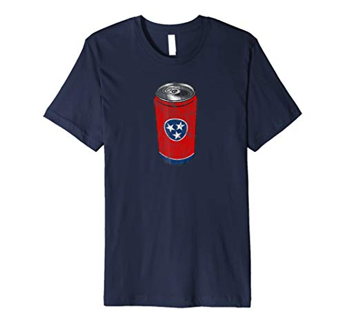 State of Tennessee Flag - Beer Can Drinking Tee