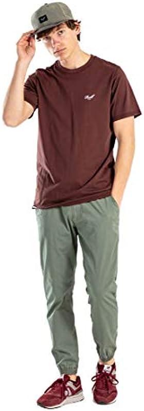 Reell Reflex 2 LW, spodnie dla mężczyzn, spodnie męskie z paskiem: Odzież
