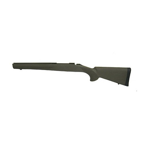 Hogue 15200 Rubber OverMolded Stock for Howa 1500/Weatherby, Short Action, Standard Pillar Bed, OD Green