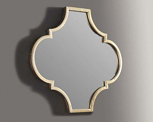Signature Design by Ashley - Callie Accent Mirror - Contemporary - Gold -