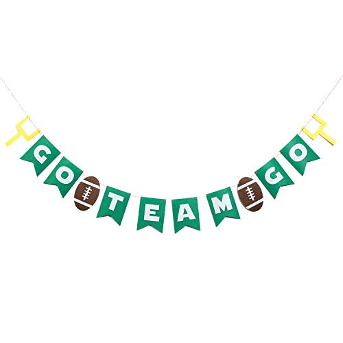 Football Theme Party Banner, Sports Party Decoration GO