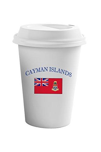 Cayman Travel Tumbler - Style In Print Cayman Islands Country Original Name Coffee Ceramic Travel Tumbler Mug 11oz