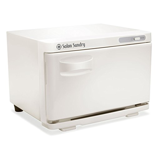 - Salon Sundry Professional Hot Towel Warmer Cabinet - Facial Spa and Salon Equipment - White