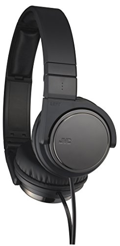 JVC Victor Head-band Portable Headphones | HA-S500-B Black (Japanese Import)