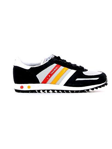 size 40 3c1de 3272f adidas La trainer k, Jungen Sneaker Schwarz - Noir, gris, rouge et orange