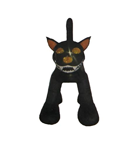Party Club of America 10 Foot Tall Inflatable Standing Black Cat Halloween Yard Decoration