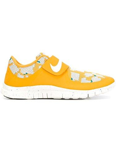 Nike Free Socfly Pa, Zapatillas de Running para Hombre Amarillo / Blanco (Canyon Gold / Light Bone-Lght Bn)