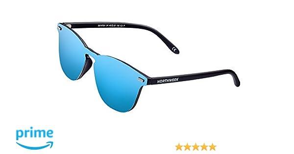 3a71bd2ee5cba NORTHWEEK Gafas de sol Wall Phantom Deck - ice blue  Amazon.es  Ropa y  accesorios