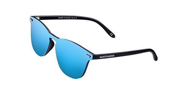 NORTHWEEK Gafas de sol Wall Phantom Deck - ice blue: Amazon.es: Ropa y accesorios