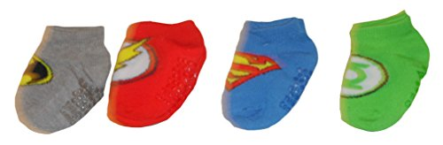 Justice League Baby Boys' Socks - 4 pk. (12-24 Months, (Justice League Babies)