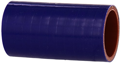 HPS HTSC-175-L4-BLUE Silicone High Temperature 4-ply Reinforced Straight Coupler Hose, 100 PSI Maximum Pressure, 4