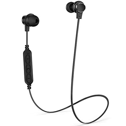 Bluetooth Headphones,Wireless Headphones, in-Ear Earbuds with Noise Cancelling Microphone,for iPhone and Android Cellphones for Business/Office/Driving