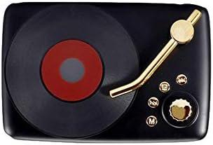 KAIFH Altavoces Bluetooth Regalo Creativo Tocadiscos Forma Retro ...
